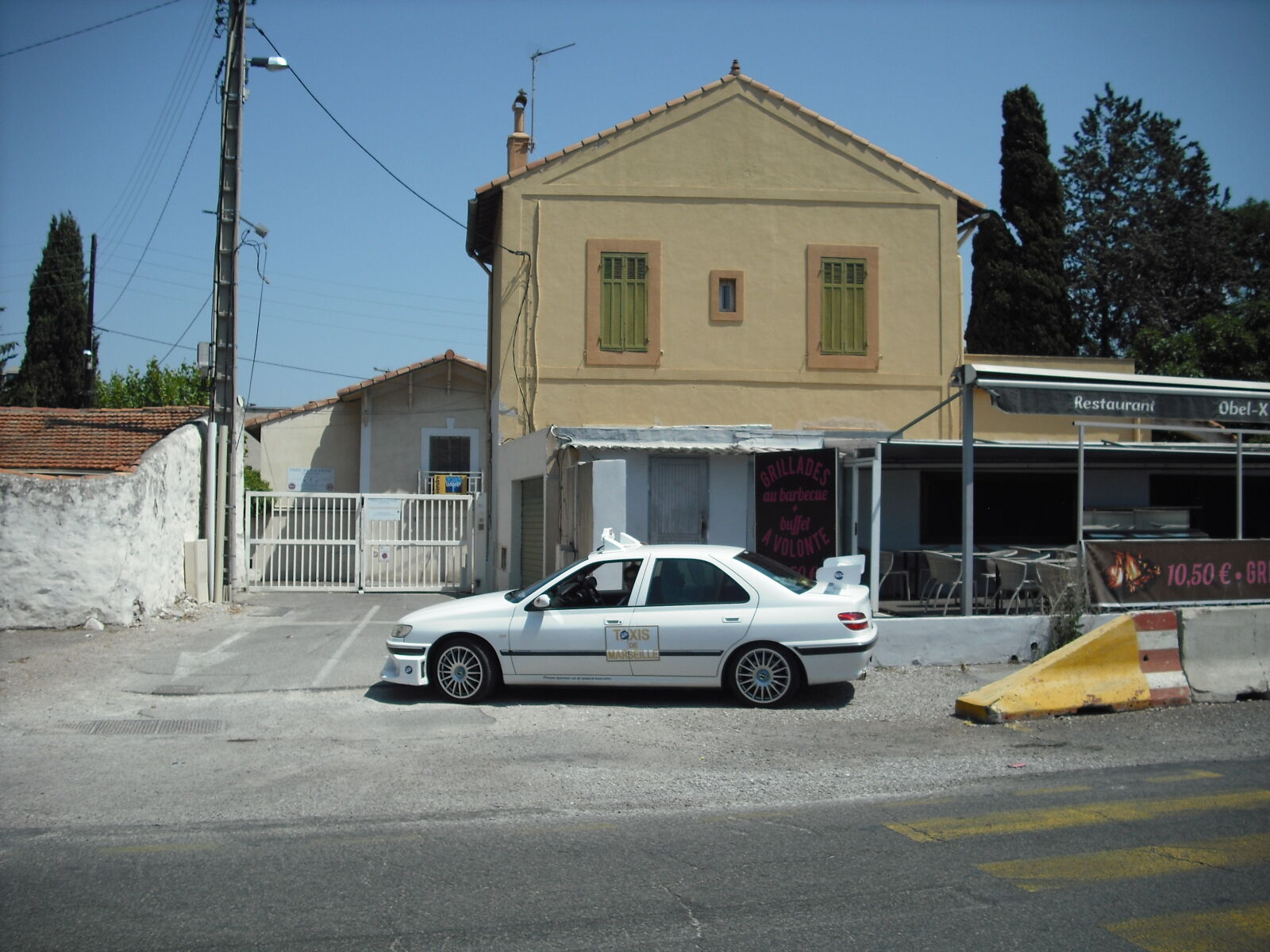 taxi, marseille, peugeot, 406