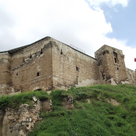 castle, wall, on, Fujifilm FinePix S1800