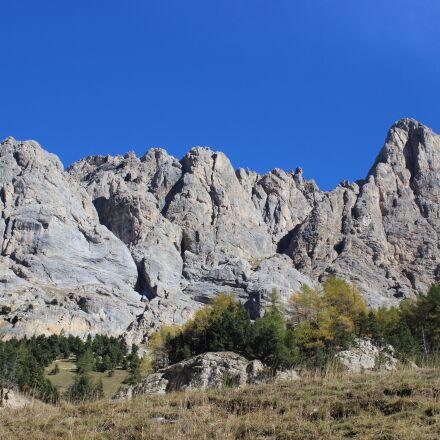 cliff, aiguillette lauzet, mounting, Canon EOS 600D