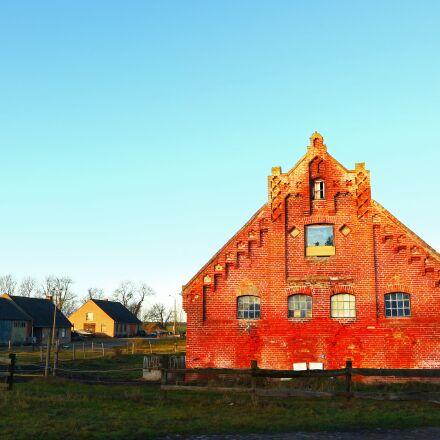 sunshine, houses, building, Canon EOS M10