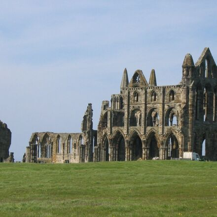 whitby, abbey, old, Canon POWERSHOT A60