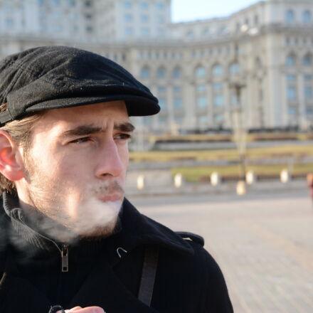 black, boy, bucharest, cigarette, Nikon D7100