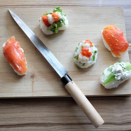 sushi, eat, fish, Fujifilm X-T1