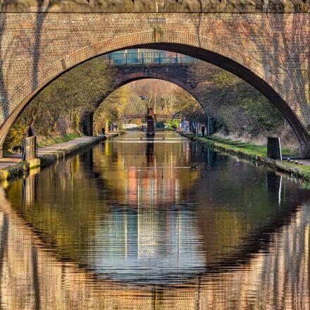 winson green, canal, bridges, Canon EOS 650D