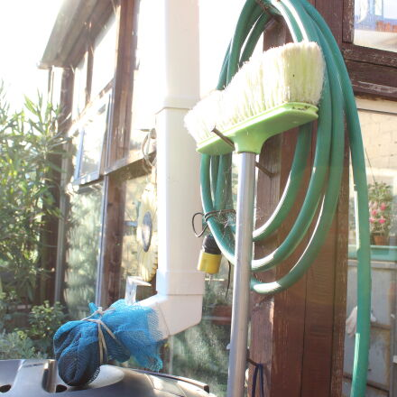 broom, garden, Canon EOS 600D