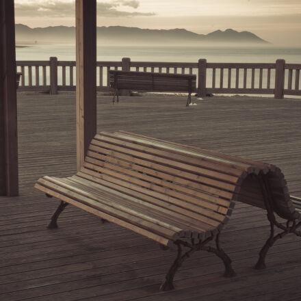 banco, europa, continente, madera, Nikon D70
