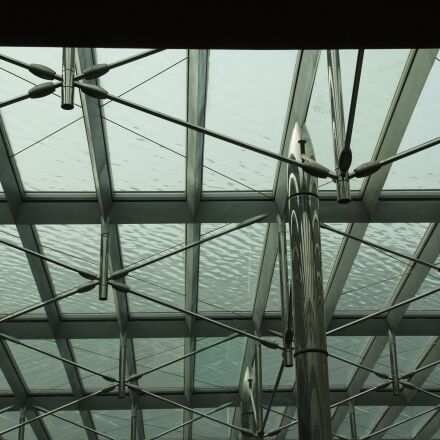 detail, building, steel structure, Fujifilm FinePix S5Pro