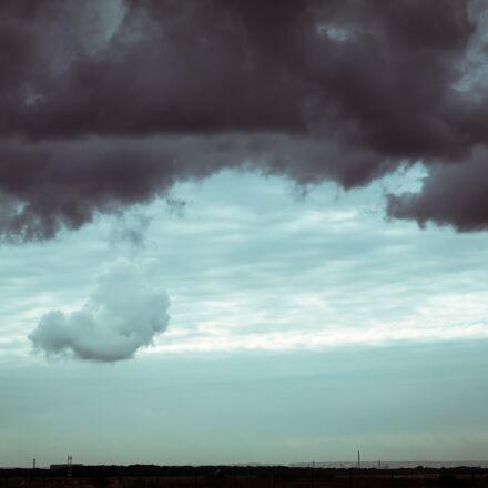 clouds, weather, sky, Samsung NX300M