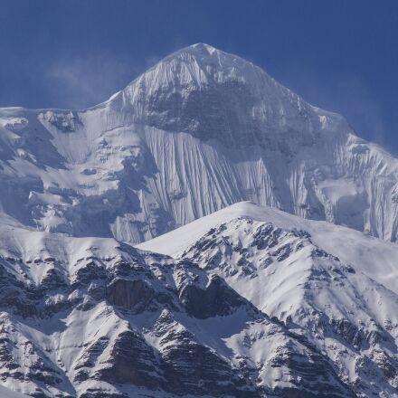 snow, mountain, winter, Olympus E-5