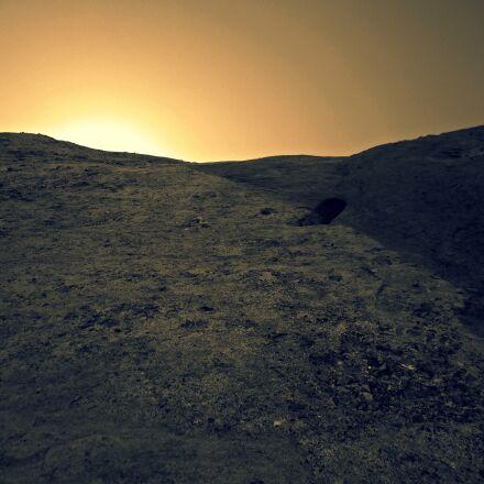 sunset, light, sepia, Canon POWERSHOT SD1400 IS