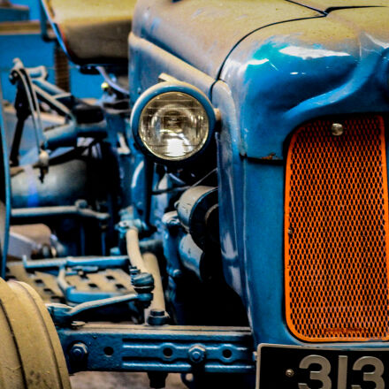 blue, ford, grill, headlamp, Canon EOS 7D