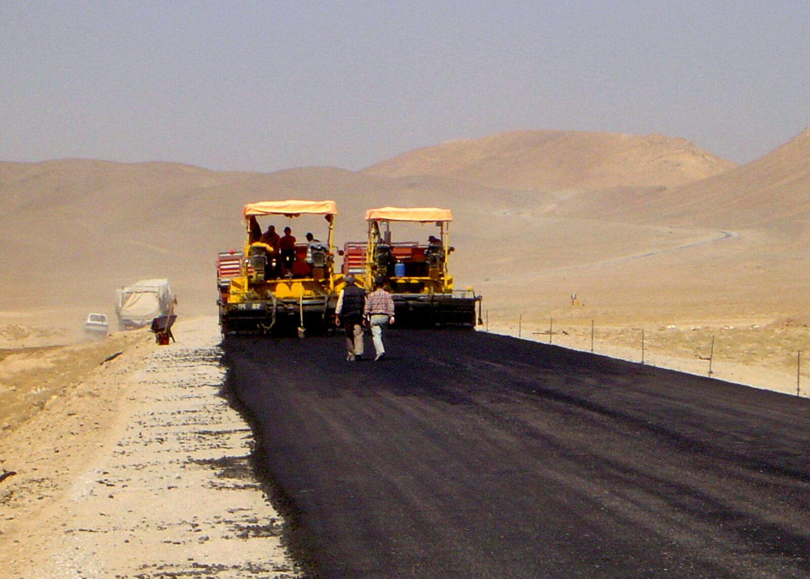 """Sony DSC-P72 sample photo. """"Paved, stretch, afghanistans, main"""" photography"""