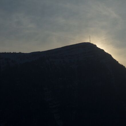 mountain, rigi, sunset, switzerland, Canon EOS 1100D