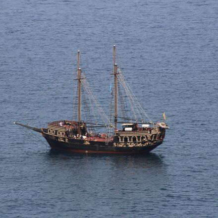 boat, pirates, summer, Canon EOS 100D