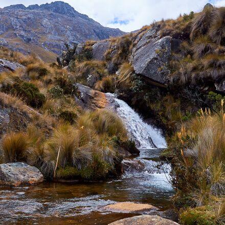 peru, mountains, mountain river, Nikon D90