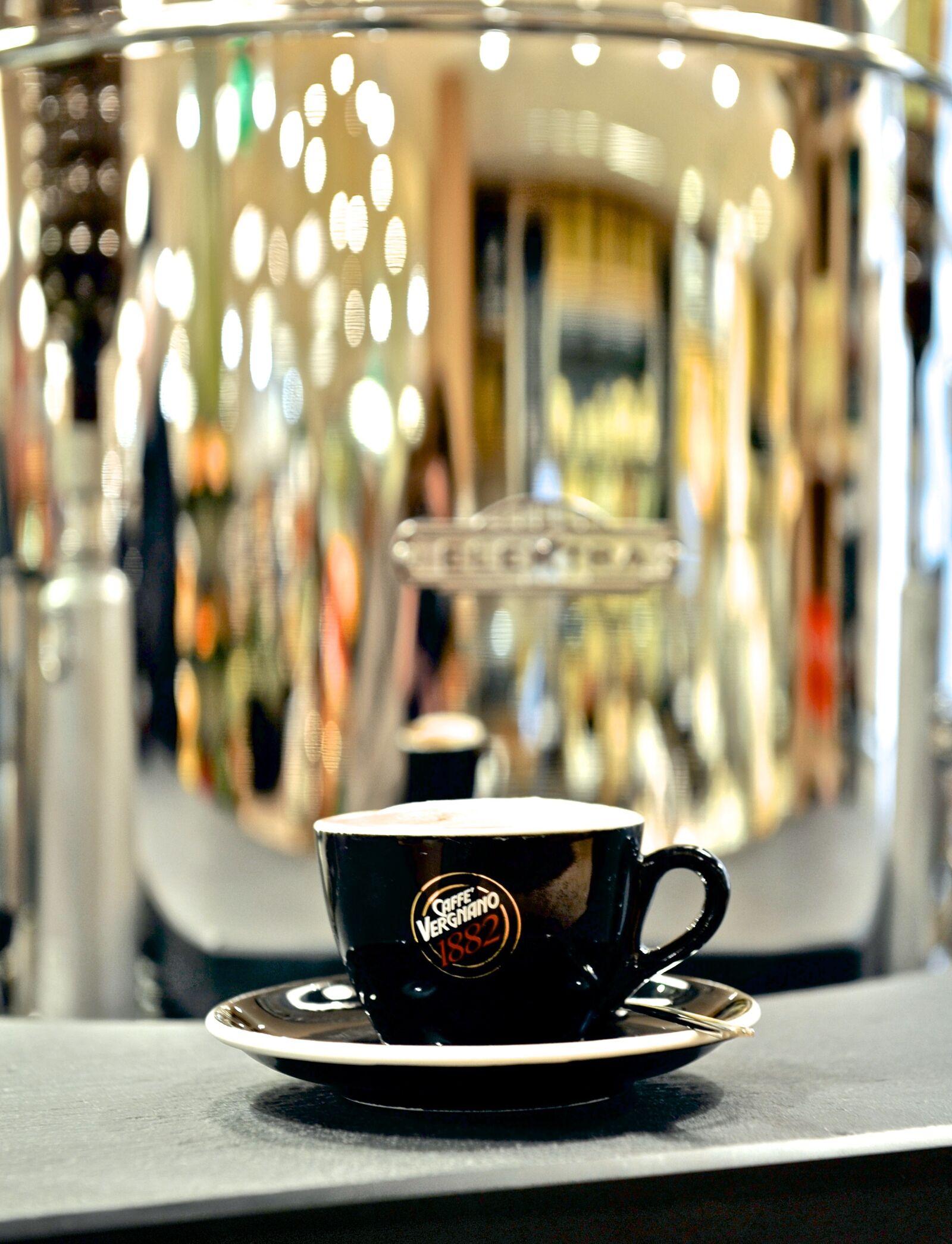 "Nikon D700 sample photo. ""Coffee, cappuccino, caffeine"" photography"