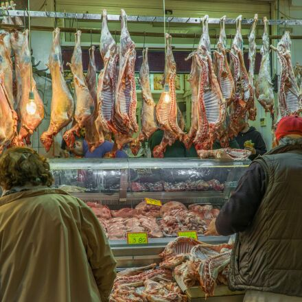 butcher, customers, goat meat, Sony ILCE-6000