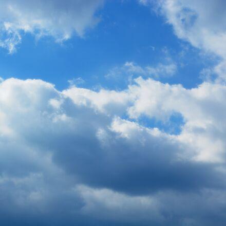 sky, clouds, nature, Nikon D5200