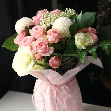flowers, bouquet, rose, Samsung NX mini