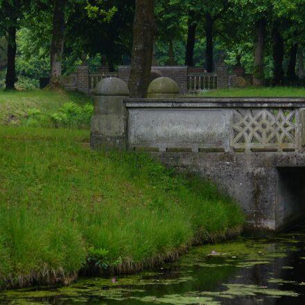 bridge, stone, water, Panasonic DMC-LZ5