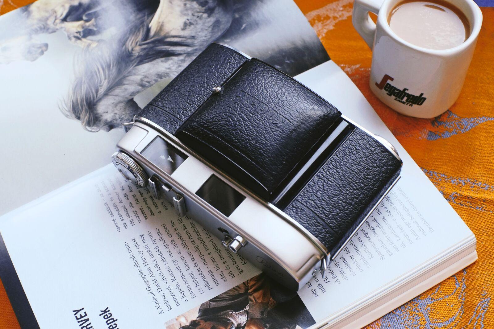 "Fujifilm X-E1 sample photo. ""Camera, book, old"" photography"