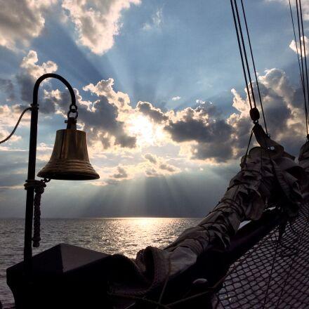 bell, ship, ship bell, Apple iPad Air