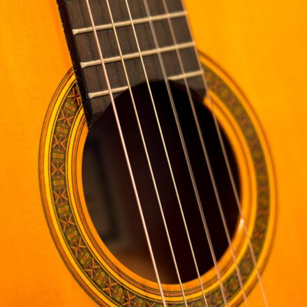 guitar, classical guitar, music, Panasonic DMC-GH3