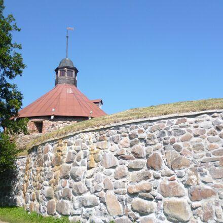 korela, fortress, tower, Panasonic DMC-FS16