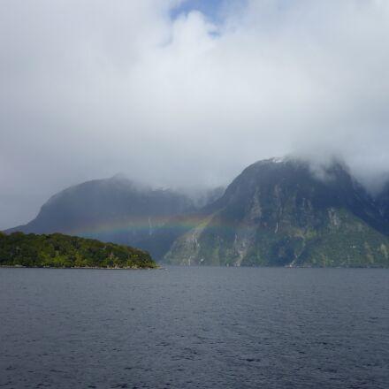 nature, misty, mountain, Panasonic DMC-FS4