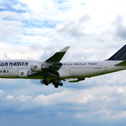 aircraft, ironmaiden, airline, Canon EOS 60D