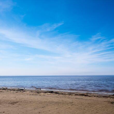 sea, sky, sand, Fujifilm X-T1