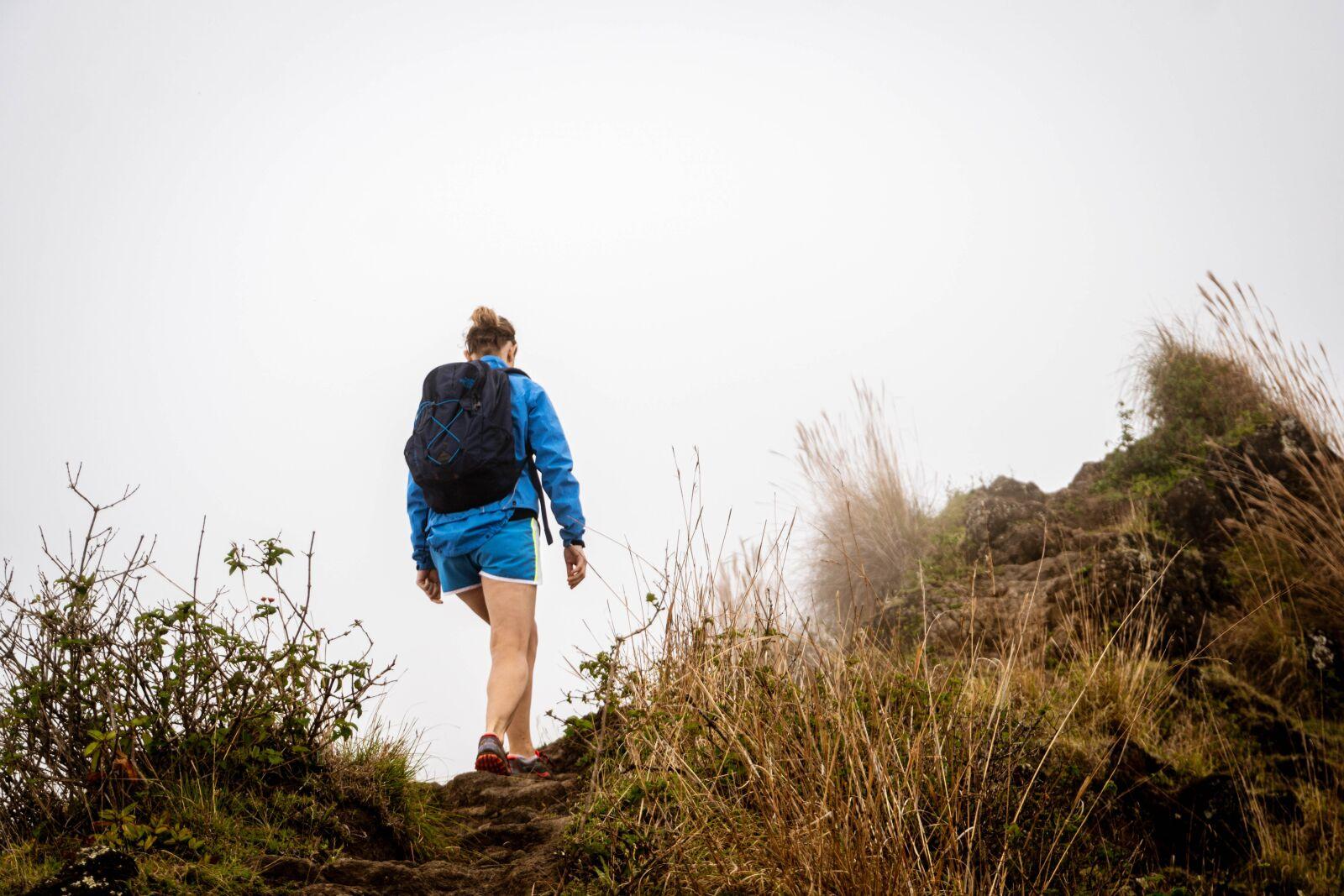 "Sony a6300 sample photo. ""Woman, hiking, mountaineer"" photography"