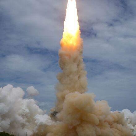 atlantis space shuttle, launch, Canon EOS 7D