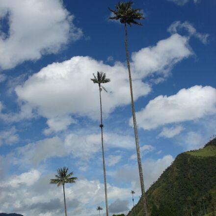 clouds, sky, landscape, Sony DSC-W30