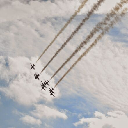 aeroplanes, planes, sky, Canon DIGITAL IXUS 200 IS