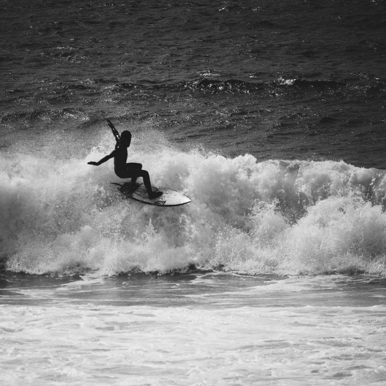 """Canon EOS 7D sample photo. """"Surf whitewash, foam, water"""" photography"""