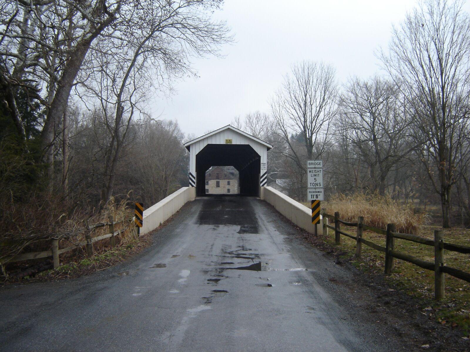 lancaster, covered bridge, bridge