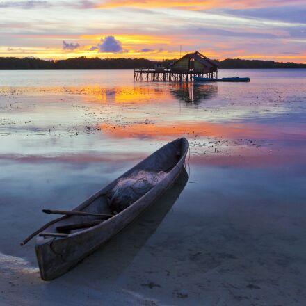 landscape, irie, at dusk, Canon EOS 5D MARK II
