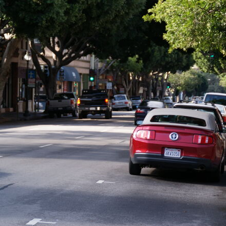 car, ford, mustang, street, Sony DSLR-A200