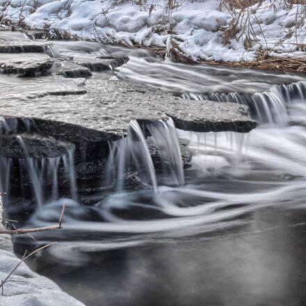 cold, creek, river, Panasonic DMC-GM1