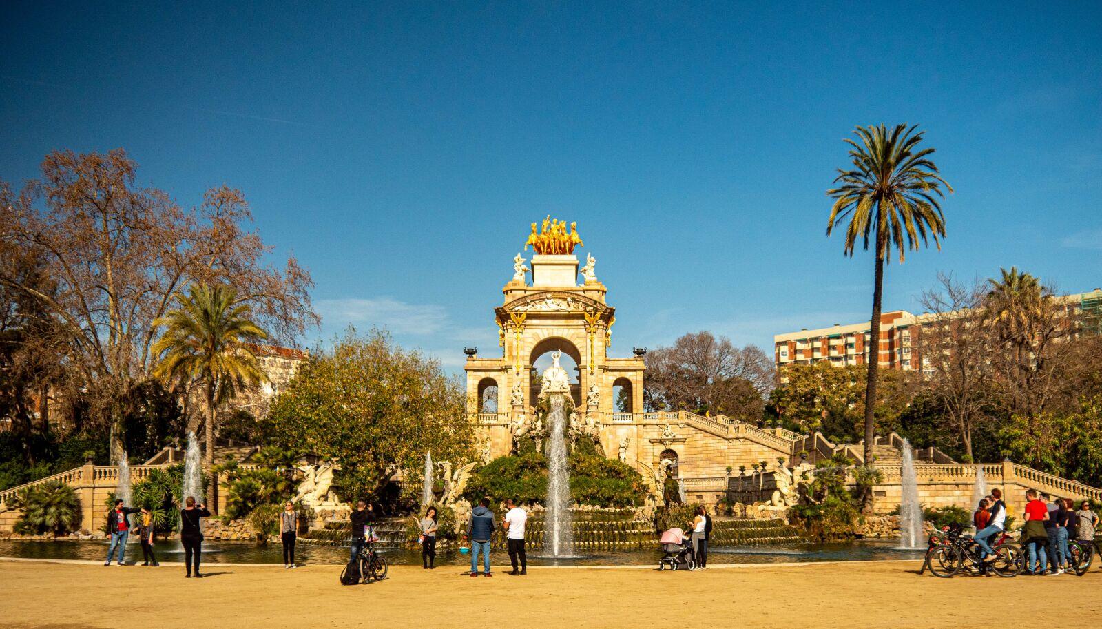 barcelona, park, spain