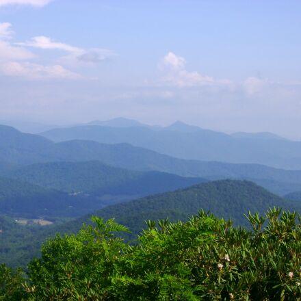 blue ridge, mountains, landscape, Sony DSC-S500