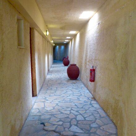 indoor, corridor, empty, Panasonic DMC-FT5