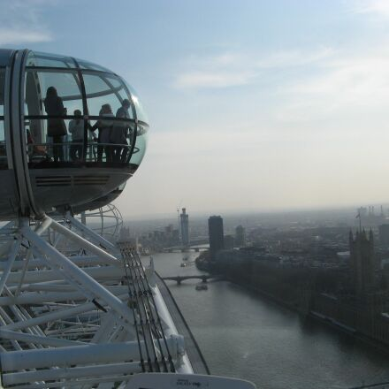 the eye, london, england, Canon POWERSHOT A710 IS