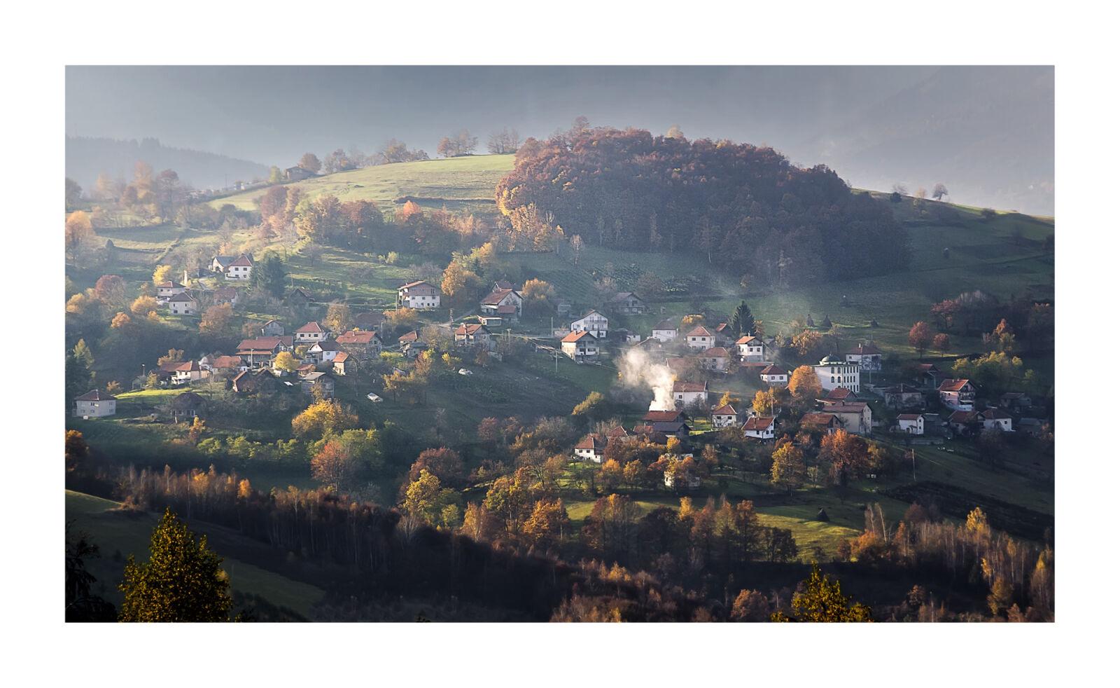 "Nikon D5100 sample photo. ""Back, light, bosnian, village"" photography"