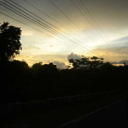 night, roadtrip, summer, sunset, Nikon D3100