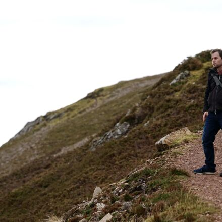 walking, hiking, mountain, Sony ILCE-7RM2