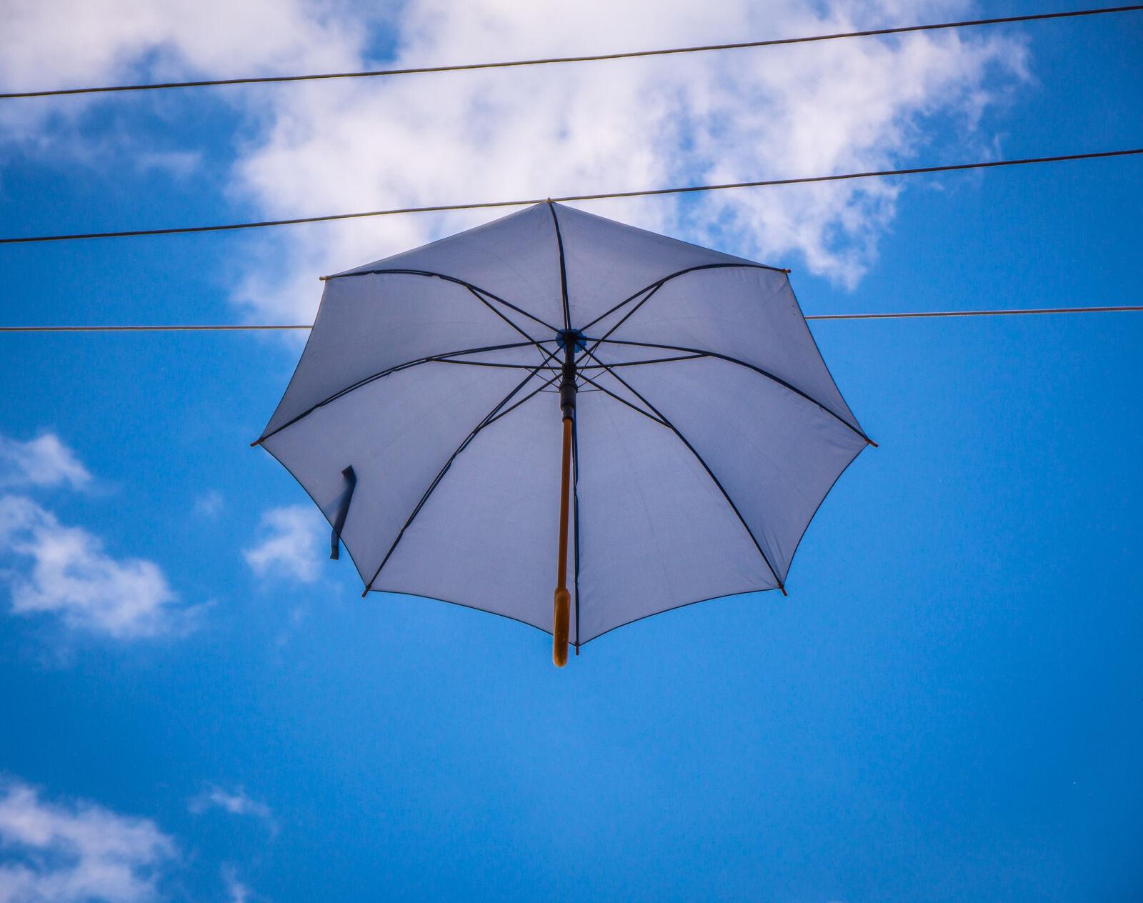 sky, umbrella