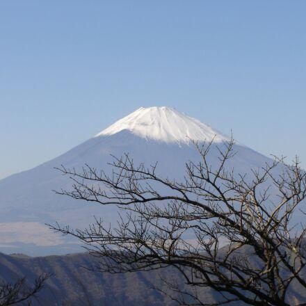 snow, mountain, volcano, Sony DSC-P73