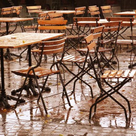 terrace, seats, rain, Panasonic DMC-TZ37